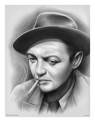 Royalty-Free and Rights-Managed Images - Peter Lorre by Greg Joens