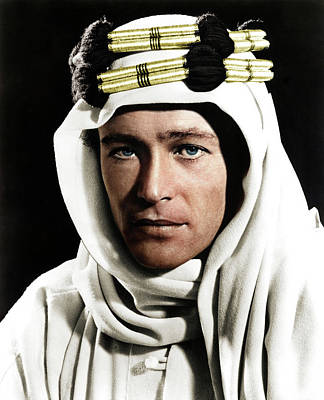 Railroad - Peter OToole in Lawrence of Arabia by Stars on Art
