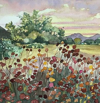 Impressionist Landscapes - Peter Strauss Ranch Seed Heads by Luisa Millicent