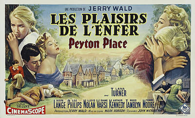 Royalty-Free and Rights-Managed Images - Peyton Place, with Lana Turner and Hope Lange, 1957 by Stars on Art