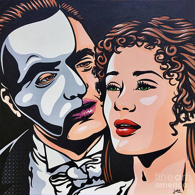Painting - Phantom Of The Opera by James Lee