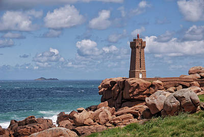 Royalty-Free and Rights-Managed Images - Phare de Men Ruz by Joachim G Pinkawa