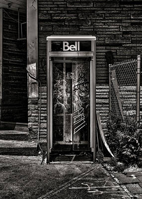 Mannequin Dresses Rights Managed Images - Phone Booth No 20 Royalty-Free Image by Brian Carson