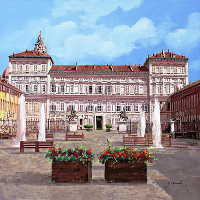 Royalty-Free and Rights-Managed Images - piazza Castello by Guido Borelli
