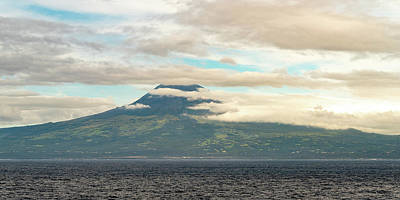 Photograph - Pico Mountain on the Island of Pico Azores by William Dickman