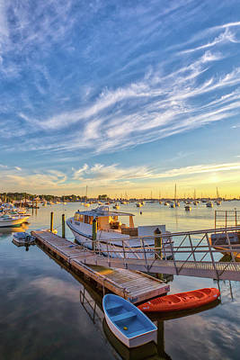 Keith Richards - Picturesque Scituate Harbor  by Juergen Roth