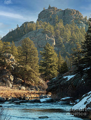 Steven Krull Royalty-Free and Rights-Managed Images - Picturesque South Platte River by Steven Krull
