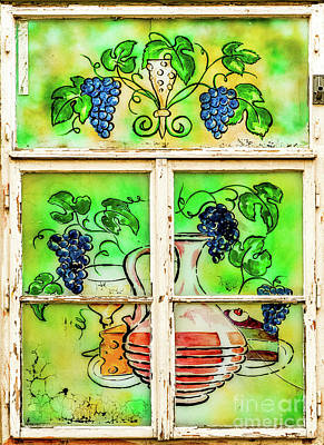 Antlers - Picturesque Window in Prague by M G Whittingham