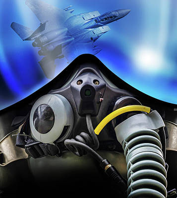 Digital Art - Pilot Mask 2 by Dale Jackson