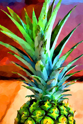 Royalty-Free and Rights-Managed Images - Pineapple 2 by Chris Butler