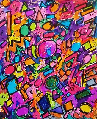 Soap Suds - Pink Bounce by Amanda Kuppe
