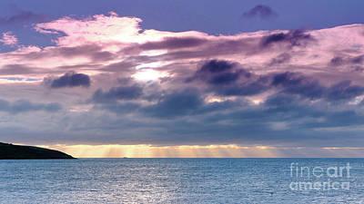 Photograph - Pink Clouds Over Atlantic by Lidija Ivanek - SiLa