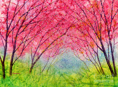 Target Threshold Watercolor - Pink Coral by Hailey E Herrera