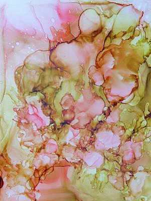 Painting - Pink Gold by Katrina Nixon