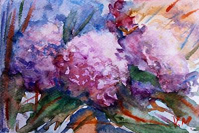 Bringing The Outdoors In - Pink hydrangeas by Vesna Martinjak