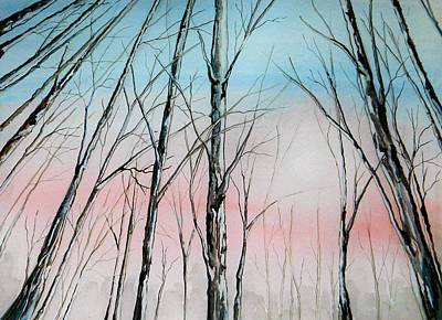Painting - Pink Sky by Judy Horan