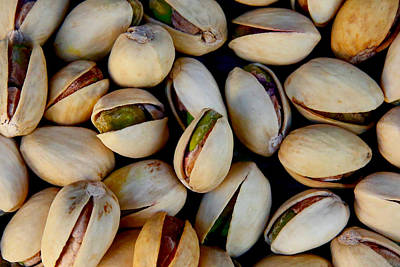 Coy Fish Michael Creese Paintings - Pistachio Nuts by Joe Vella