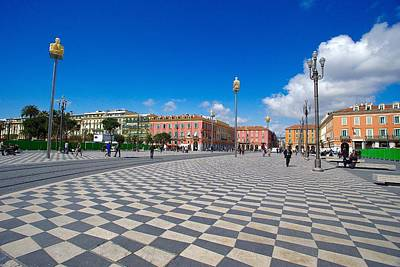 Granger - Place Massena, Nice, France. by Joe Vella