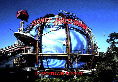 Door Locks And Handles - Planet Hollywood Downtown Disney 1990s by David Lee Thompson