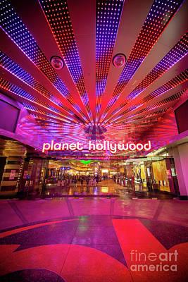 Photograph - Planet Hollywood Las Vegas by Bryan Mullennix