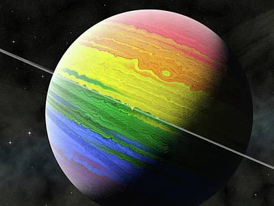 Photograph - Planet LGBT by Frans Blok