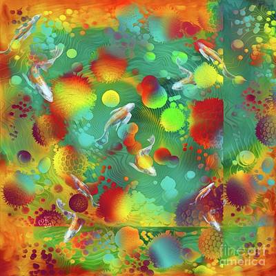 Popstar And Musician Paintings - Poi Pond by Michelle Ressler