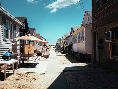 Photograph - Point Pleasant Alley by David Oakill