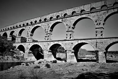 Abstract Animalia - Pont du Gard France Photo 98 by Lucie Dumas