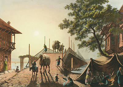 Travel - Ponte piccolo from Views in the Ottoman Dominions by Artistic Panda