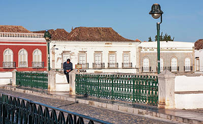 Whats Your Sign - Ponte Romana - Tavira, Portugal by Barry O Carroll