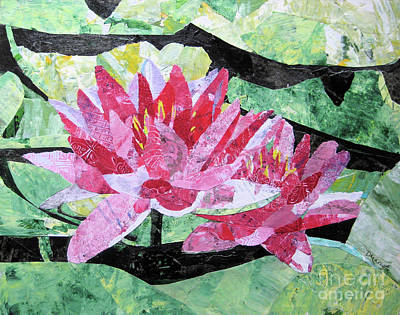 Painting - Pop Up Pink by Diane Marcotte