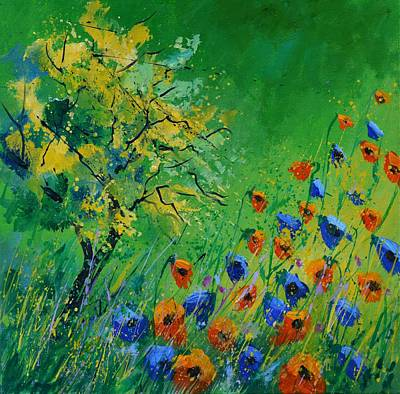 Spot Of Tea Rights Managed Images - Poppies 44 Royalty-Free Image by Pol Ledent