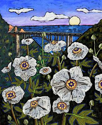 Caravaggio - Poppies and the Bixby Bridge by David Hinds