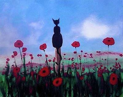 Railroad - Poppy and Pur by Krista May