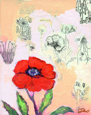 Royalty-Free and Rights-Managed Images - Poppy Family by Jennifer Lommers