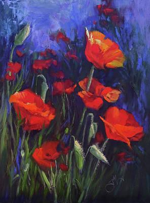 Painting - Poppy Garden by Jeri McDonald