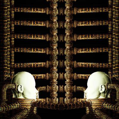 Surrealism Photos - Porcelain Gemini  by Bob Orsillo
