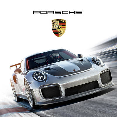 Fall Animals - Porsche Sport by Gina Dsgn