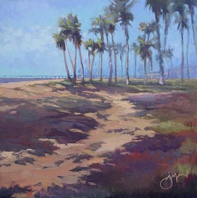 Painting - Port Hueneme Beach Walk by Jeri McDonald
