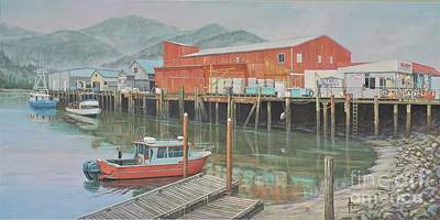 Ethereal - Port of Garibaldi by Paul Henderson