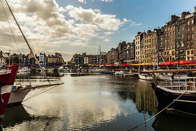 David Bowie - Port of Honfleur, Normandy, France by Fabiano Di Paolo