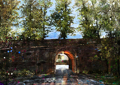 Surrealism Royalty-Free and Rights-Managed Images - Porta San Jacopo by Andrea Gatti