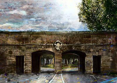 Digital Art - Porta Sant'Anna by Andrea Gatti