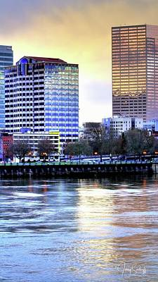 Jerry Sodorff Royalty-Free and Rights-Managed Images - Portland Reflections 22929 HDR by Jerry Sodorff