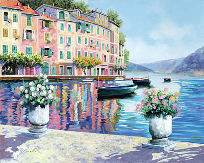 Royalty-Free and Rights-Managed Images - Portofino Rosa-azzurro by Guido Borelli