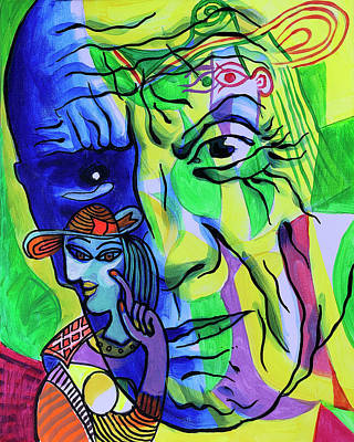 Royalty-Free and Rights-Managed Images - Portrait of Pablo Picasso by Leon Zernitsky