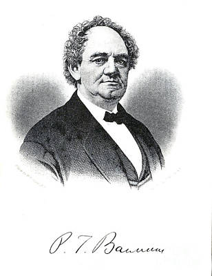 Drawings Royalty Free Images - Portrait of P.T. Barnum i1 Royalty-Free Image by Historic illustrations