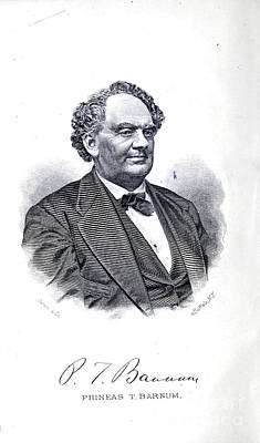 Drawings Royalty Free Images - Portrait of P.T. Barnum i2 Royalty-Free Image by Historic illustrations