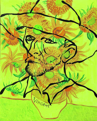Royalty-Free and Rights-Managed Images - Portrait of Vincent Van Gogh by Leon Zernitsky