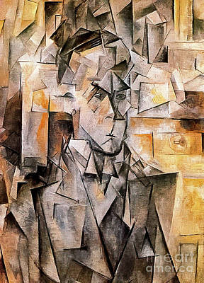 Surrealism Royalty-Free and Rights-Managed Images - Portrait of Wilhelm Uhde by Pablo Picasso 1910 by Pablo Picasso